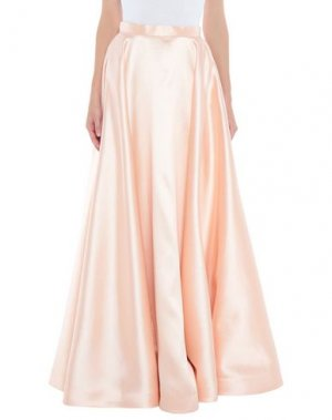 Длинная юбка LEXUS. Цвет: абрикосовый