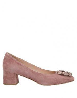 Туфли CALPIERRE. Цвет: пастельно-розовый