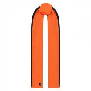 Шарф Bogner. Цвет: оранжевый