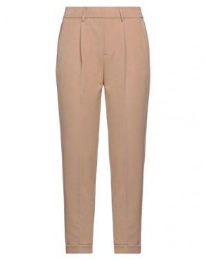 Повседневные брюки CLIPS MORE. Цвет: верблюжий