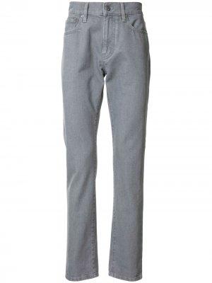 Прямые джинсы Dunhill. Цвет: серый