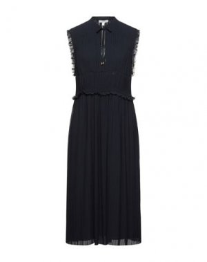 Платье миди JOIE. Цвет: темно-синий