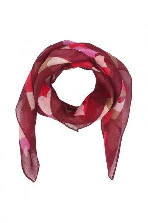 Платок F.FRANTELLI. Цвет: бордовый, фуксия, фиолетовый