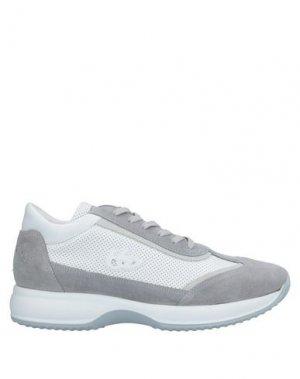 Низкие кеды и кроссовки BLU BYBLOS. Цвет: серый