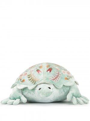 Мягкая игрушка с вышивкой Anke Drechsel. Цвет: синий