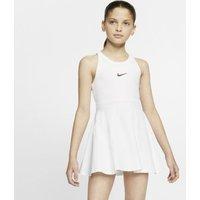 Теннисное платье для девочек школьного возраста Court Dri-FIT - Белый Nike
