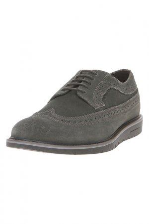 Туфли Geox. Цвет: серый, зеленый, коричневый