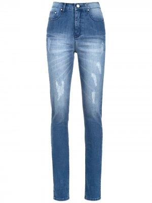 Bari high waist jeans Amapô. Цвет: синий