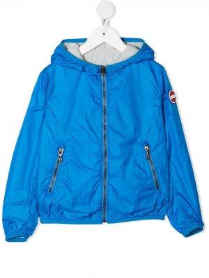 Двусторонняя куртка на молнии Colmar Kids. Цвет: синий