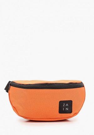 Сумка поясная Zain. Цвет: оранжевый