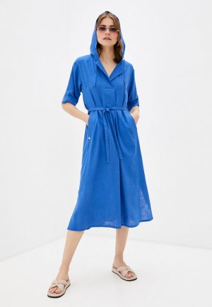 Платье Dimma. Цвет: синий