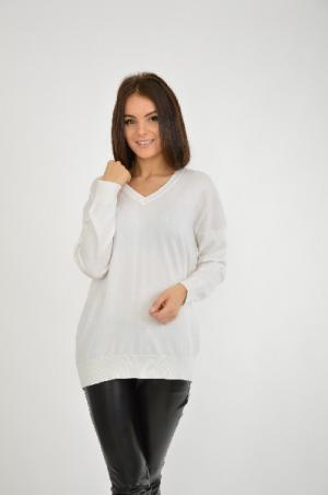 Пуловер Blue Seven. Цвет: белый