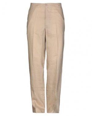 Повседневные брюки FRIENDLY. Цвет: песочный