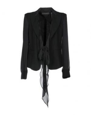Пиджак DONNA KARAN. Цвет: черный