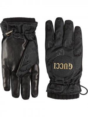 Перчатки Off Grid Gucci. Цвет: черный