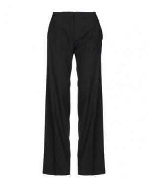 Повседневные брюки DIVINA. Цвет: черный