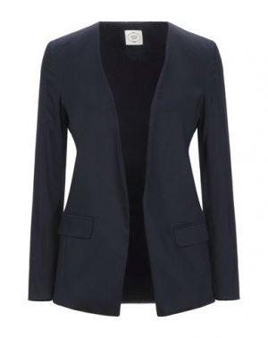 Пиджак EMMA & GAIA. Цвет: темно-синий