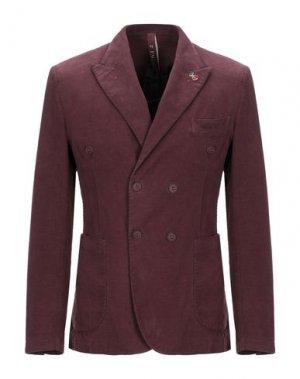 Пиджак FAG. Цвет: красно-коричневый