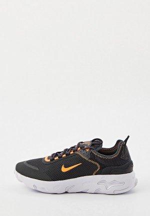 Кроссовки Nike REACT LIVE (GS). Цвет: черный