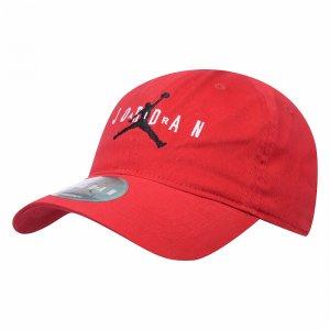 Curve Brim Adjustable Hat Jordan. Цвет: красный