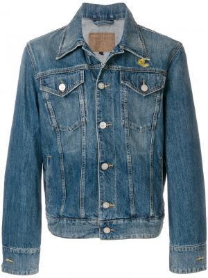 Классическая джинсовая куртка Vivienne Westwood Anglomania. Цвет: синий