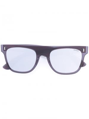 Солнцезащитные очки с квадратной оправой Retrosuperfuture. Цвет: черный