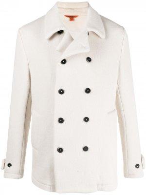 Двубортная куртка Barena. Цвет: нейтральные цвета