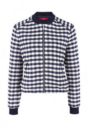 Куртка s.Oliver. Цвет: синий