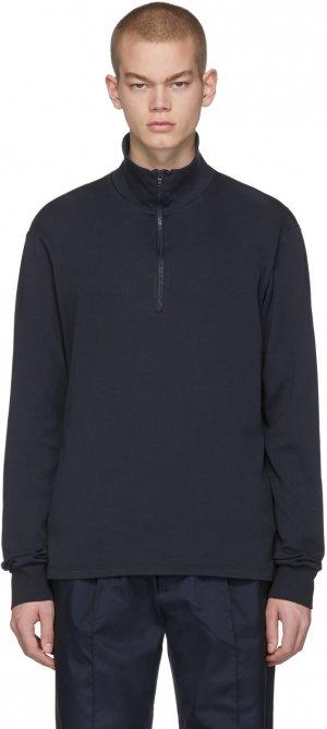 Navy Calenda Zip Sweater Barena. Цвет: 170 navy