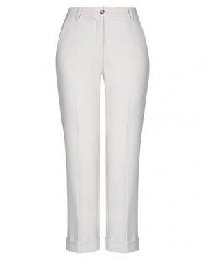 Повседневные брюки VIA MASINI 80. Цвет: светло-серый