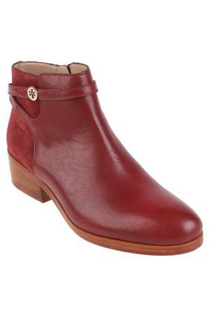 Ботинки Tory Burch. Цвет: красный