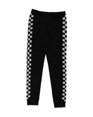 Повседневные брюки LITTLE REMIX. Цвет: черный