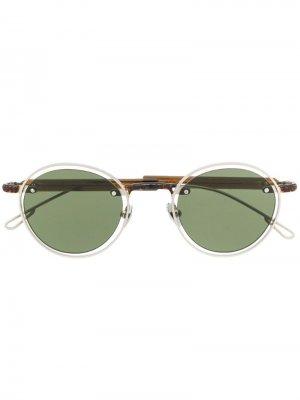 Солнцезащитные очки Le Meunier Jacquemus. Цвет: коричневый