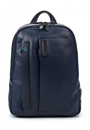 Рюкзак Piquadro PULSE. Цвет: синий