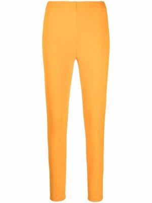 Легинсы с завышенной талией Emilio Pucci. Цвет: оранжевый