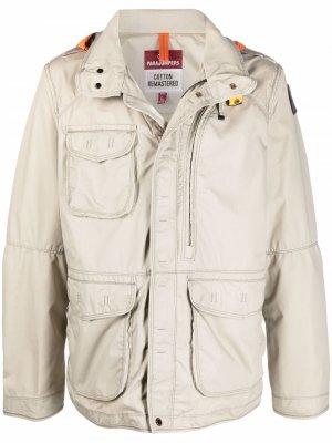 Куртка с накладными карманами Parajumpers. Цвет: нейтральные цвета