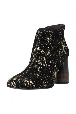 Ankle boots ROBERTO BOTELLA. Цвет: black, gold