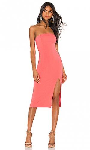Платье миди thompson Jay Godfrey. Цвет: розовый