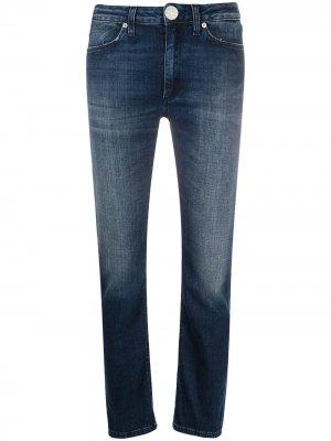 Узкие джинсы Allie средней посадки Dondup. Цвет: синий