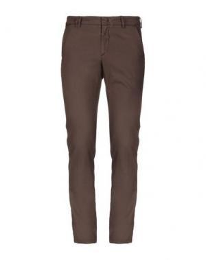 Повседневные брюки HAVANA & CO.. Цвет: какао