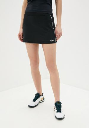 Юбка-шорты Nike W NKCT DRY SKIRT STR. Цвет: черный