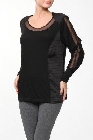 Блузка Giani Forte. Цвет: черный