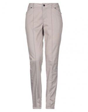 Повседневные брюки FUEGO WOMAN. Цвет: светло-серый
