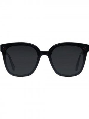 Солнцезащитные очки Rick Gentle Monster. Цвет: черный