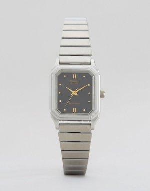 Часы-унисекс в винтажном стиле LQ-400D-1AEF Unisex-Серебряный Casio
