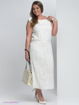 Платье Giani F. Цвет: белый