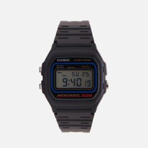 Наручные часы Collection W-59-1 CASIO. Цвет: чёрный