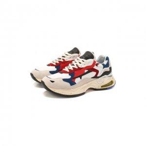 Комбинированные кроссовки Sharky Premiata. Цвет: разноцветный
