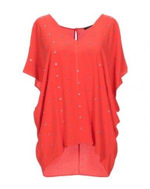 Блузка ANNARITA N. Цвет: красный