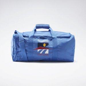 Спортивная сумка Classics Graphic IA Reebok. Цвет: blue blast